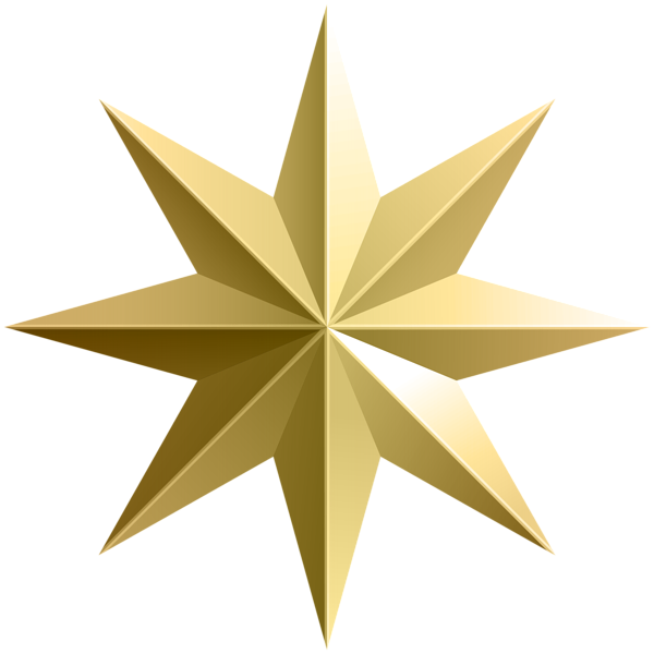 Christmas star png transparent background. Gold image backgrounds graphics