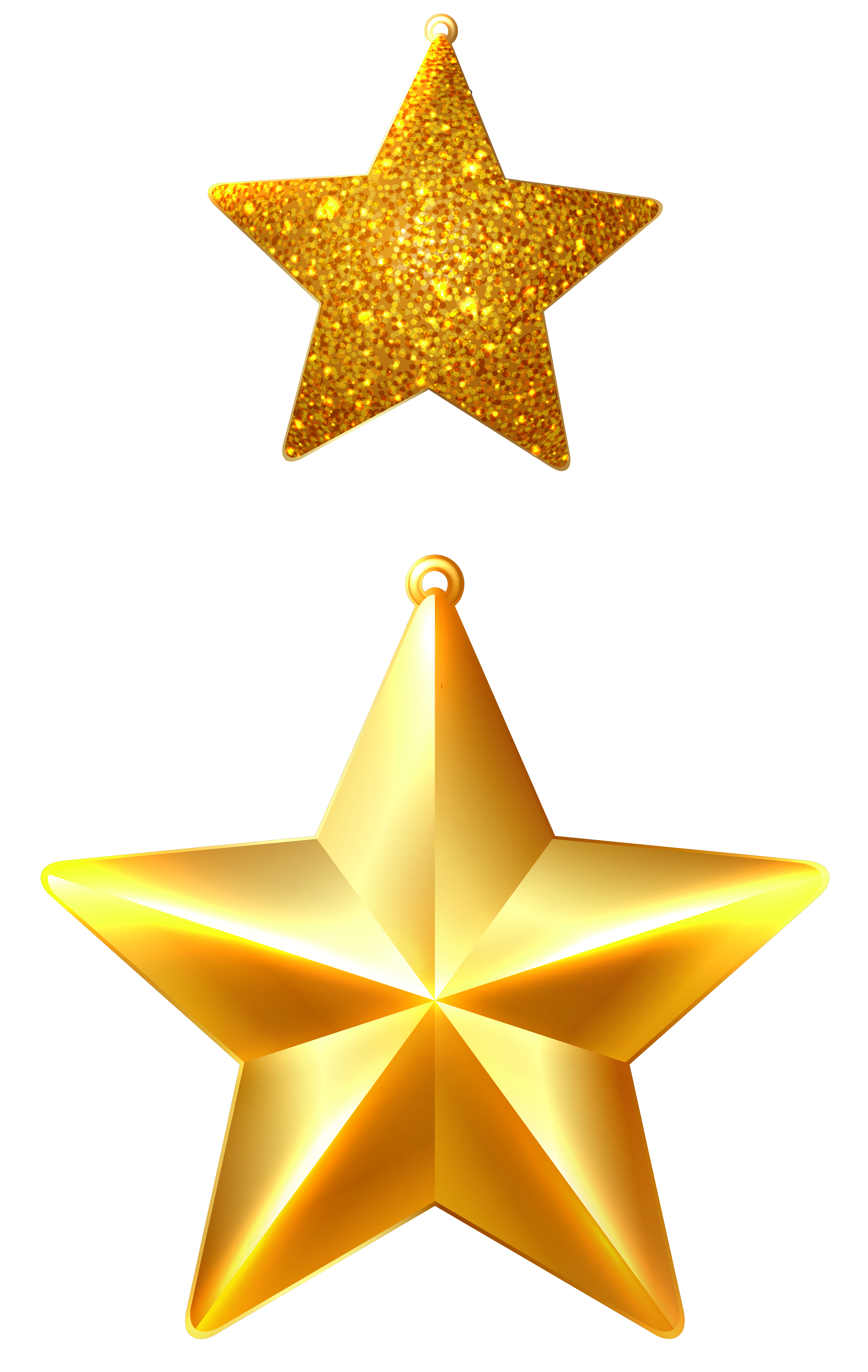 Christmas stars png. Ornaments clipart image gallery