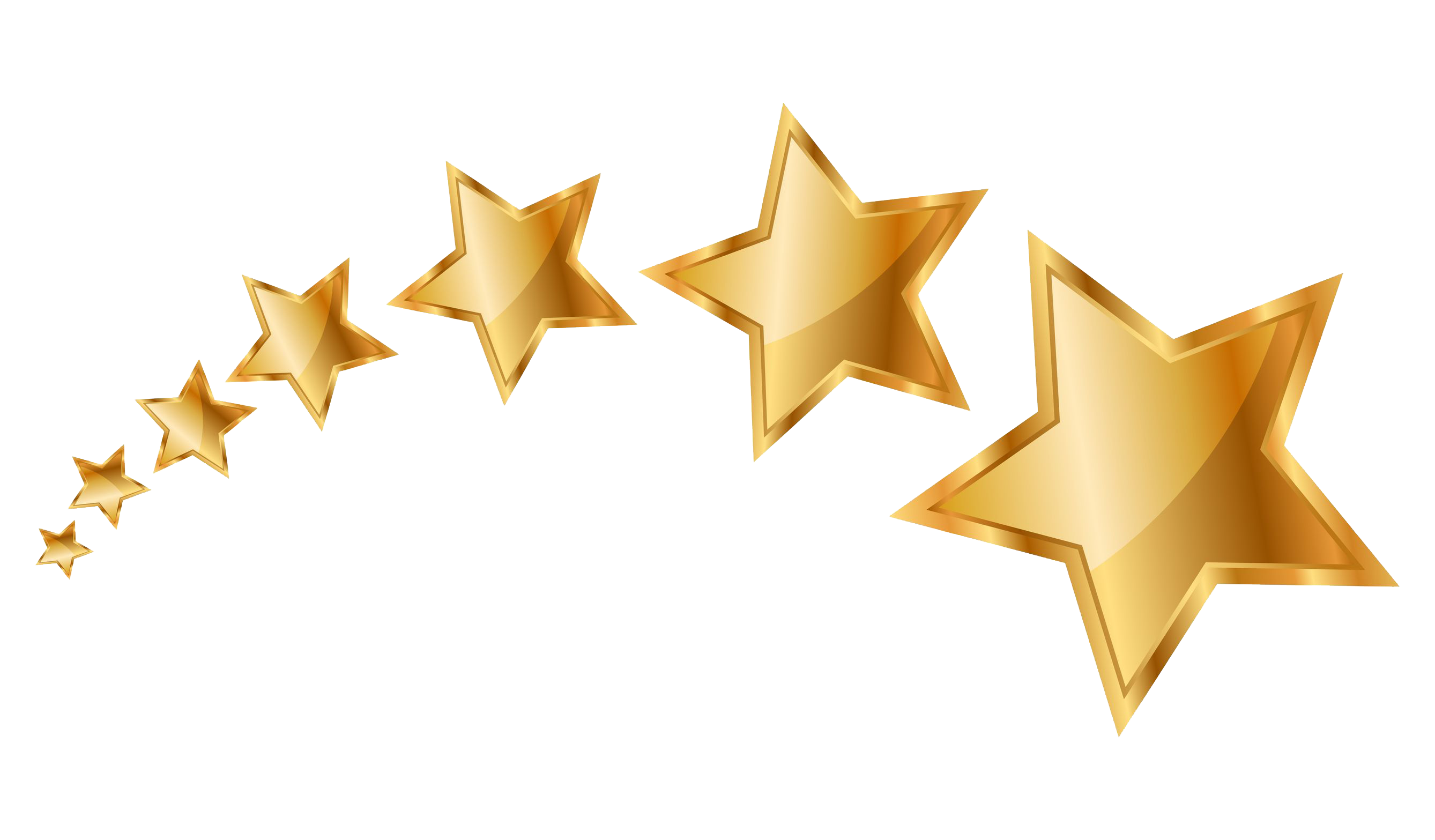Gold stars png. Star images transparent free