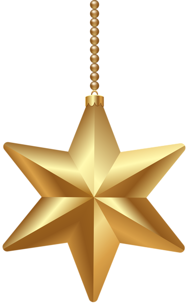 Holiday stars png. Gold christmas star clipart