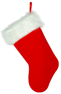Christmas stocking png. About those stockings does
