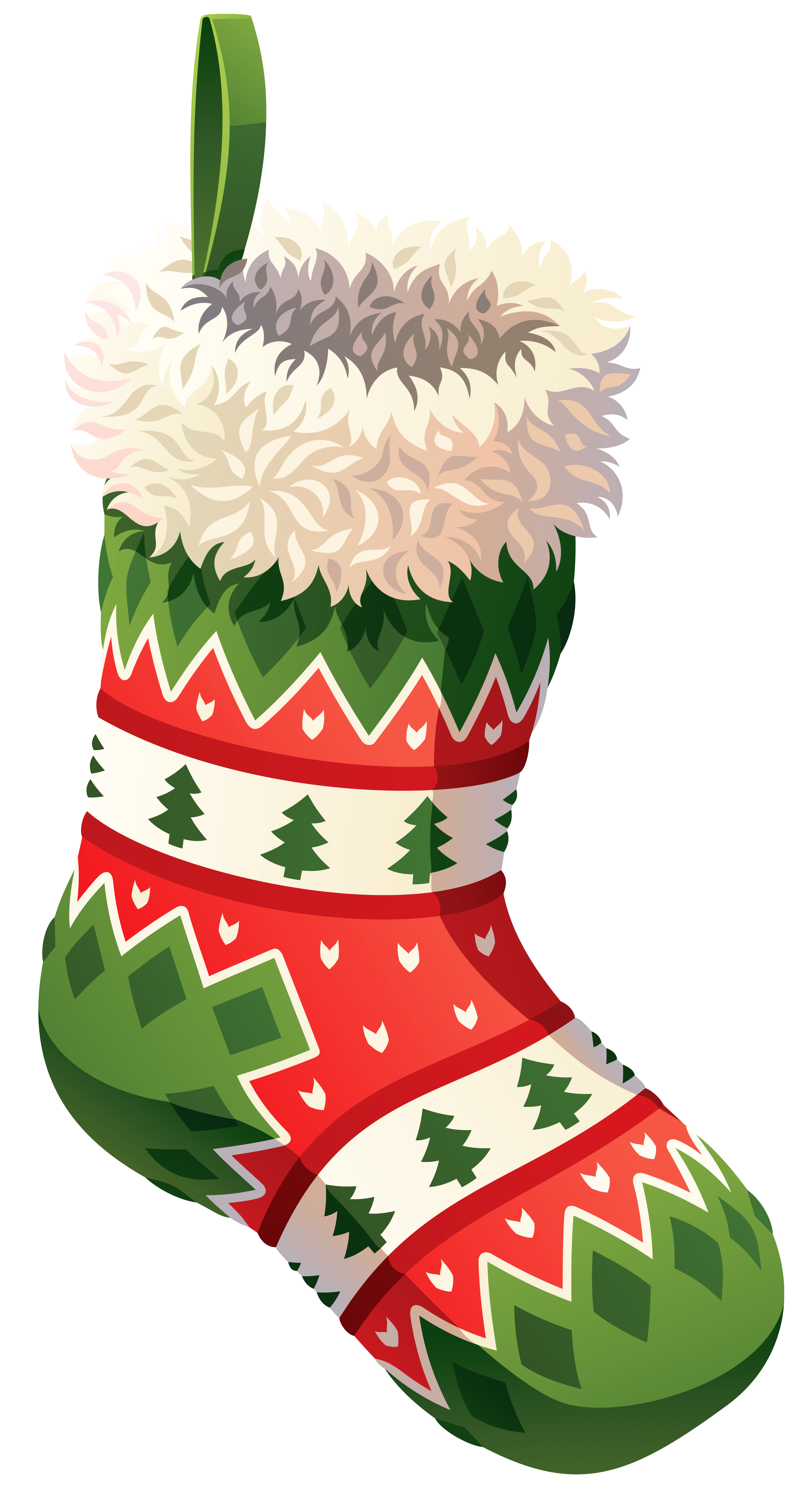 Christmas stocking png. Clip art image gallery