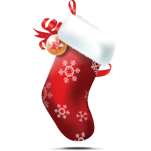 Christmas stockings png. Royalty free stock images