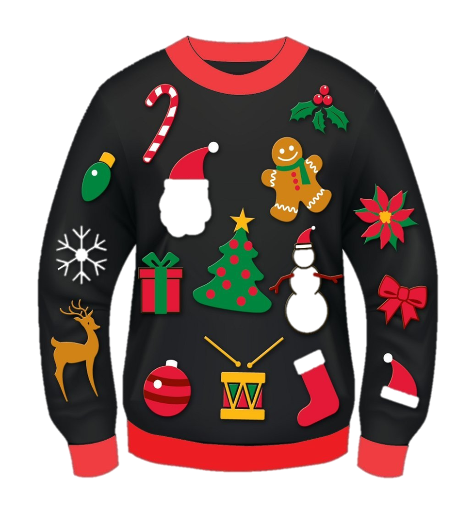 Christmas sweater png. Photo mart