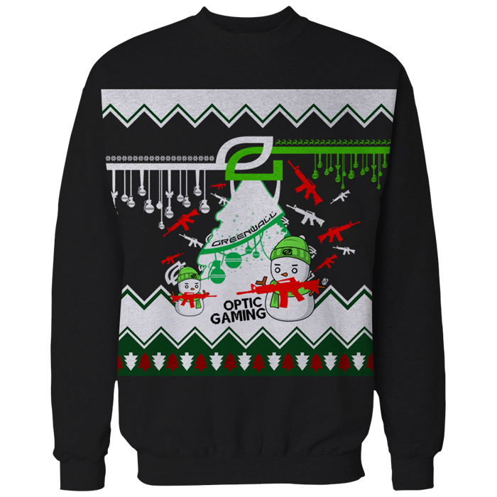 Christmas sweater png. Optic gaming official global