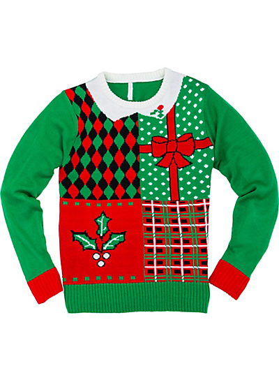 Christmas sweater png. Why does this ugly