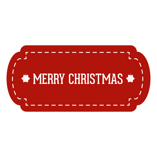 Png tag. Red christmas transparent svg