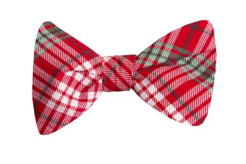 transparent holly bow tie