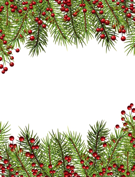 Christmas top border png. Holly transparent frame writing