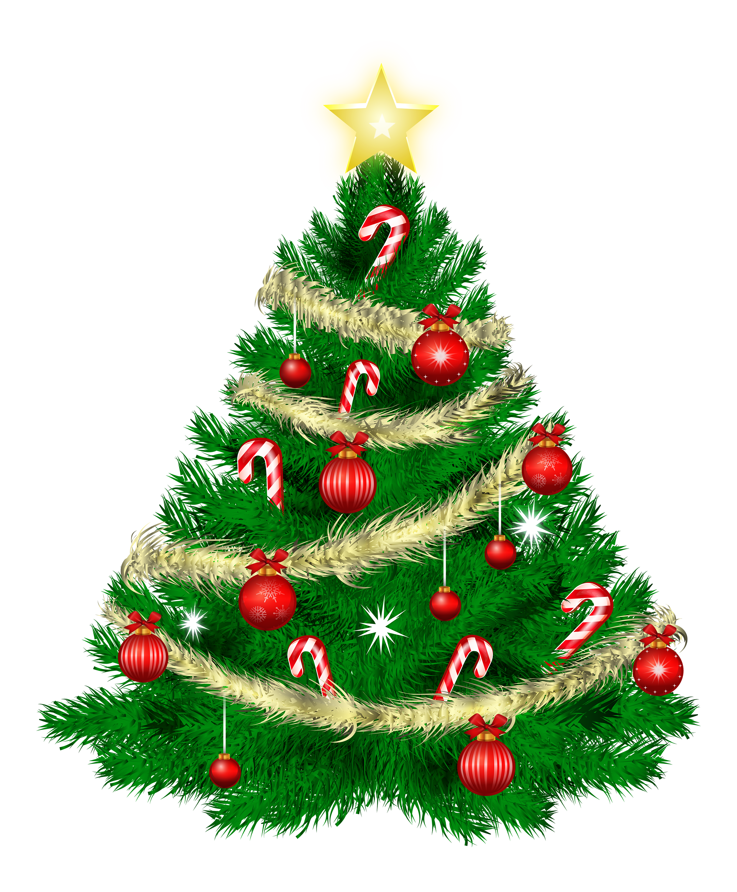 green christmas tree png