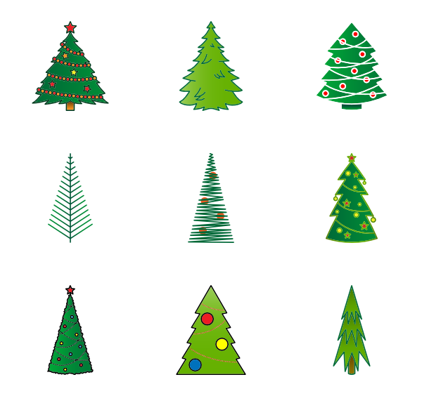 Christmas tree icon png. Packs vector svg