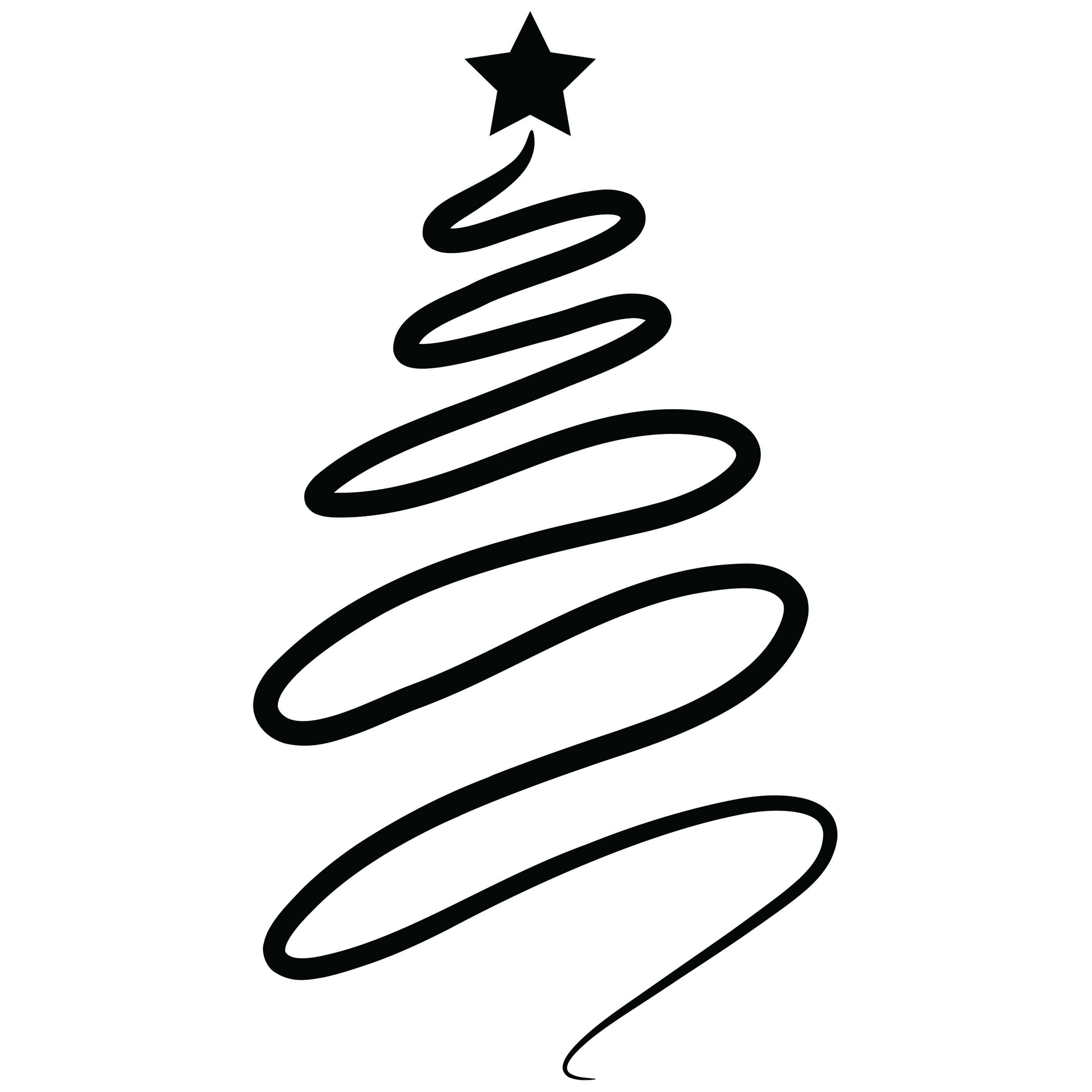 Christmas Tree Outline Transparent Png Clipart Free Download Ya