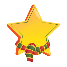 Christmas png star. Available in different size