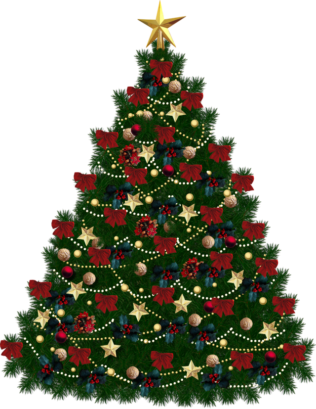 Christmas tree transparent background png. Ornaments image free icons