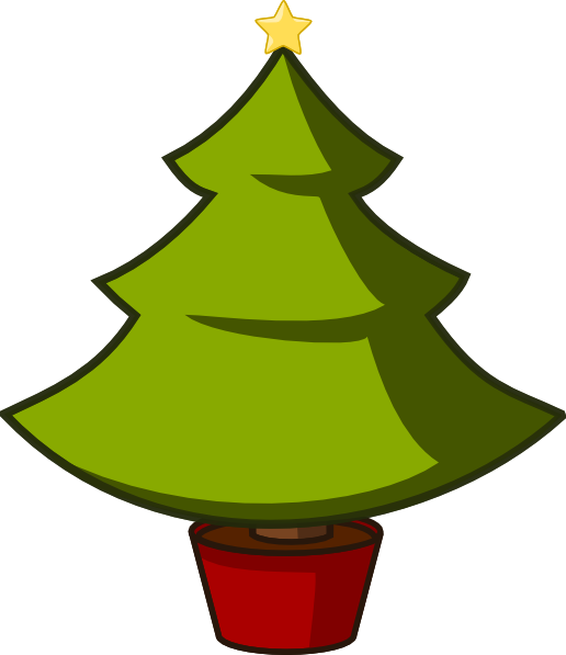 Clip art free library. Christmas tree vector png vector stock