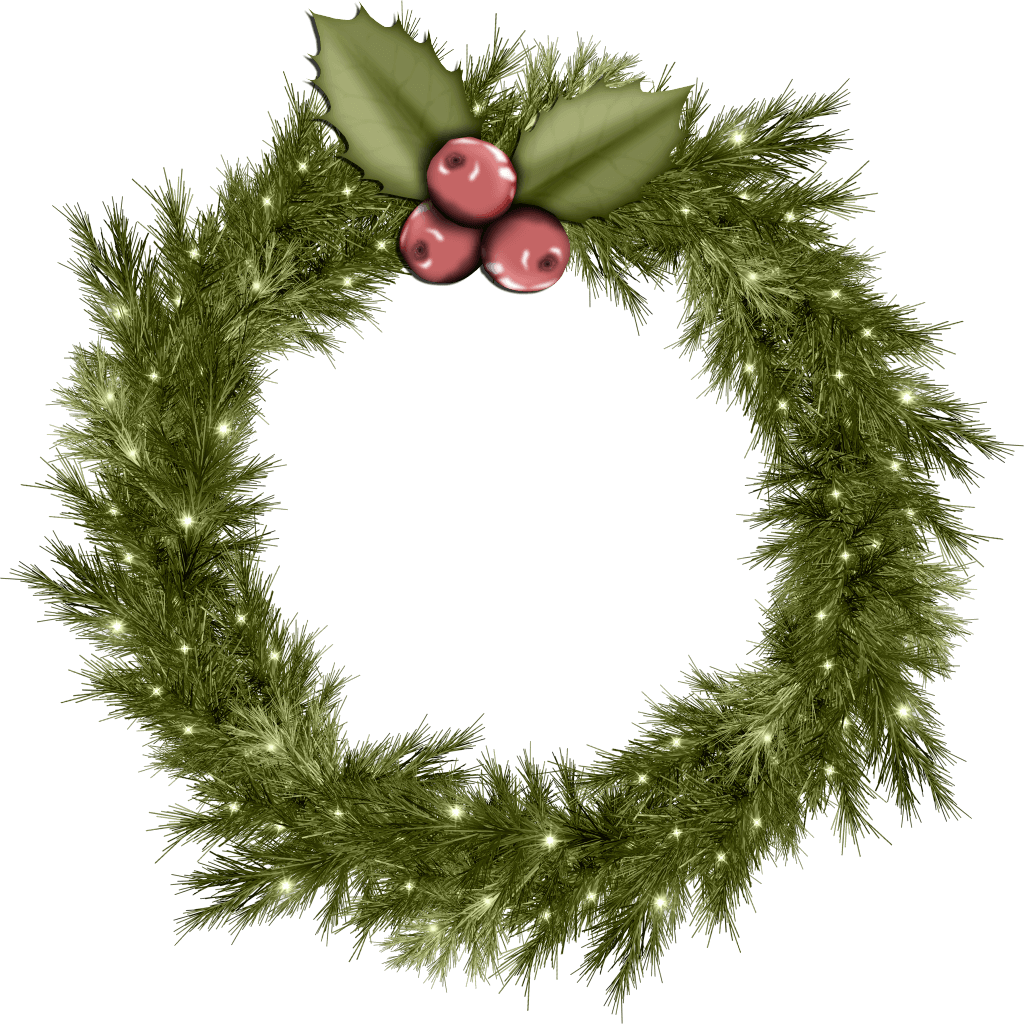 Christmas wreath png. Cool image