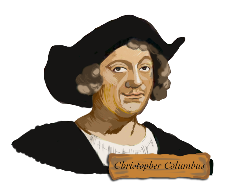 christopher columbus clipart three