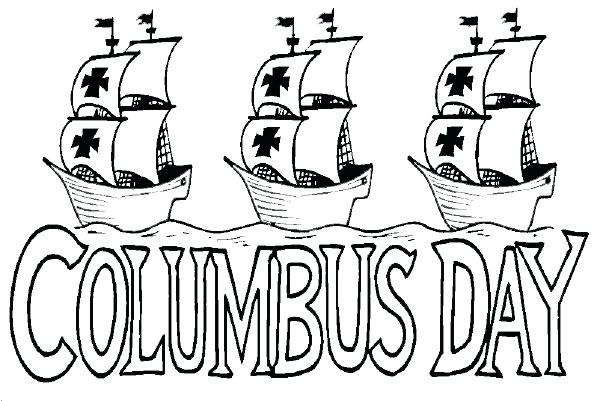 Columbus clipart sailing ship. Christopher ships coloring pages