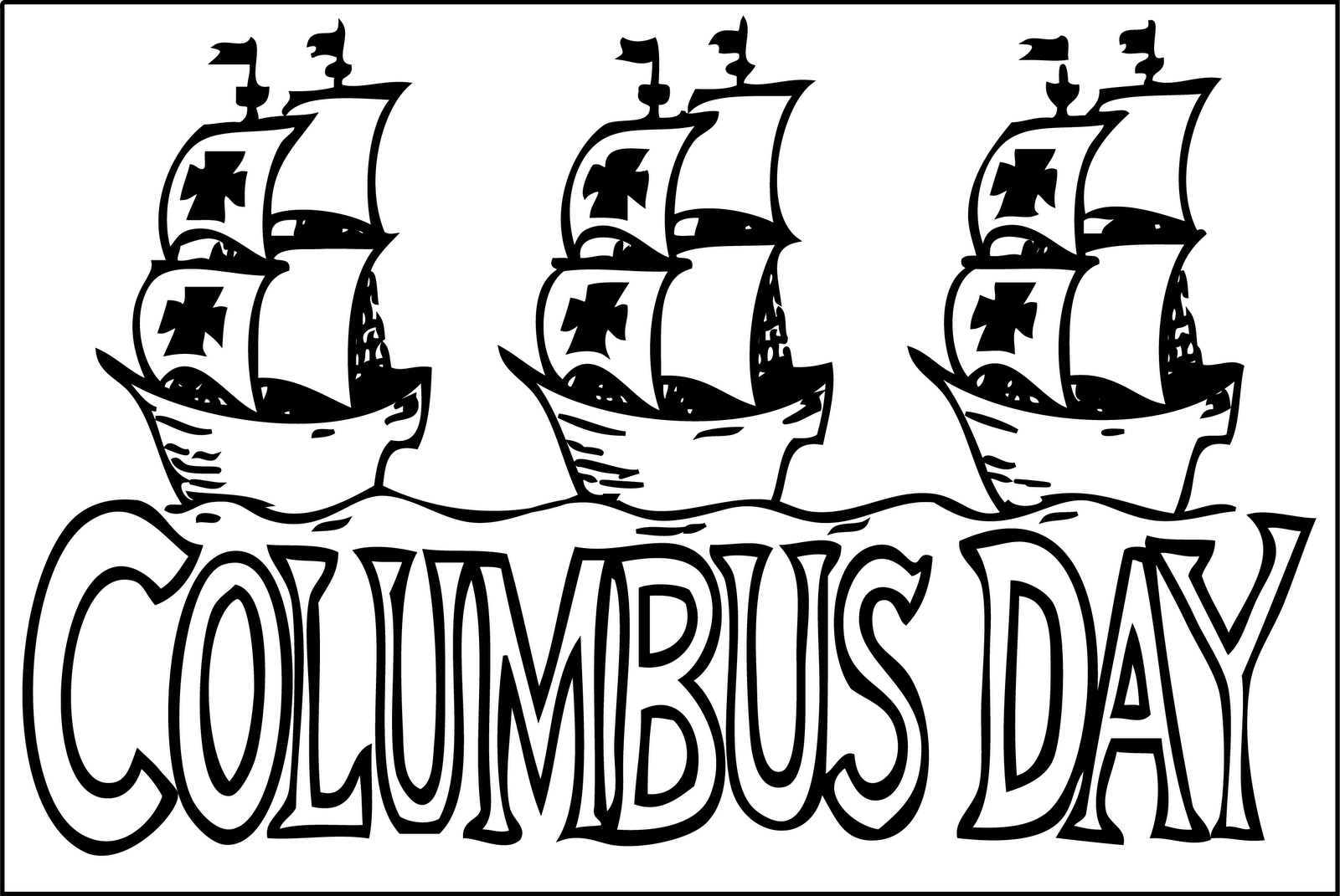 Columbus clipart drawing. Christopherlumbus dayloring pages hat