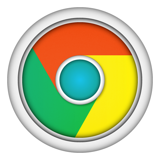 Chrome 3d png. Icon mac apps iconset