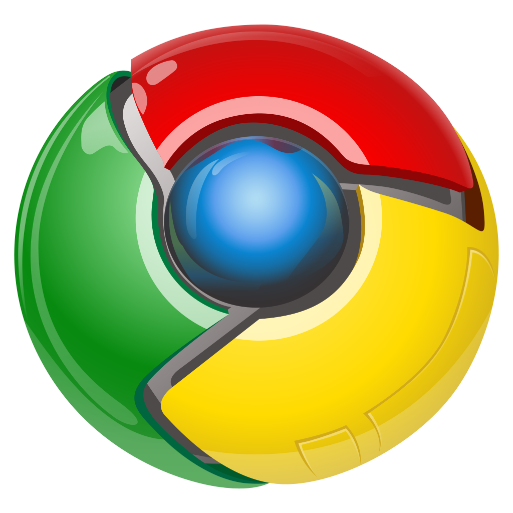 old google chrome logo png