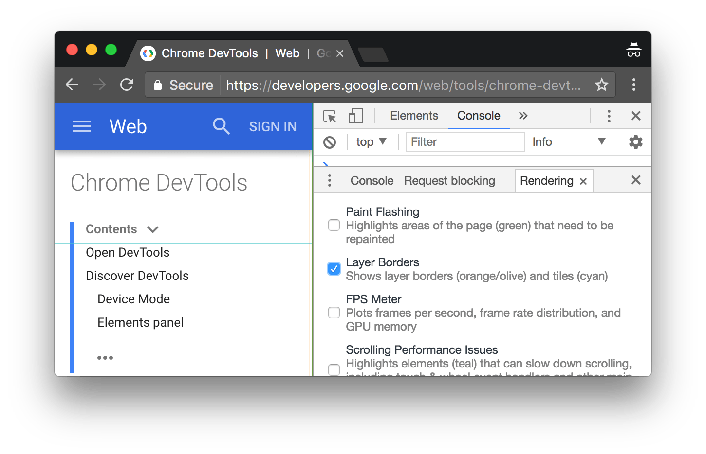 Chrome border png. Performance analysis reference tools