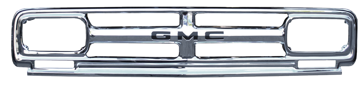 Chrome grille png. Gmc pickup and