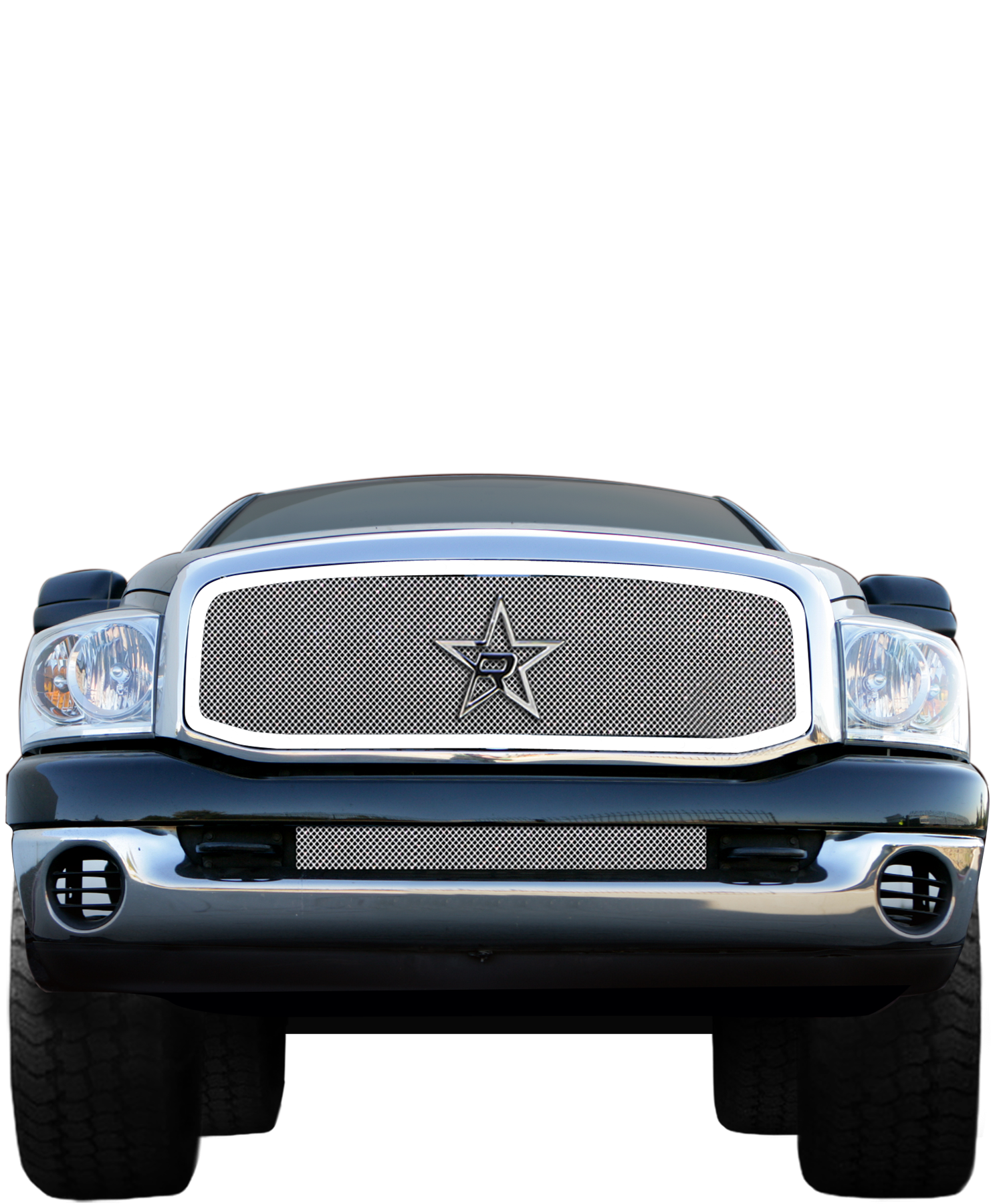 Chrome grille png. Rbp smooth frame for