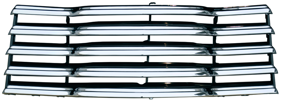 Chrome grille png. Chevy pickup painted