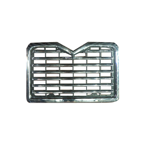 Chrome grille png. Grill suitable for mack