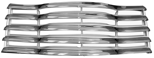 Chrome grille png. Chevrolet pickup truck