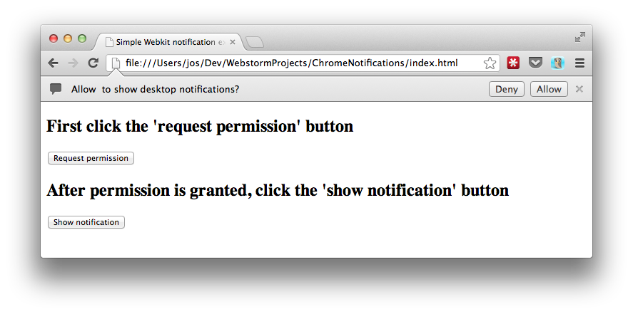 Chrome html to png. And firefox desktop notifications