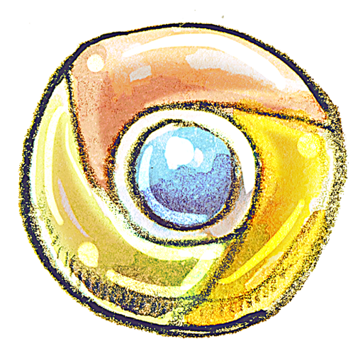 Chrome icon png 128x128. Down to earth by