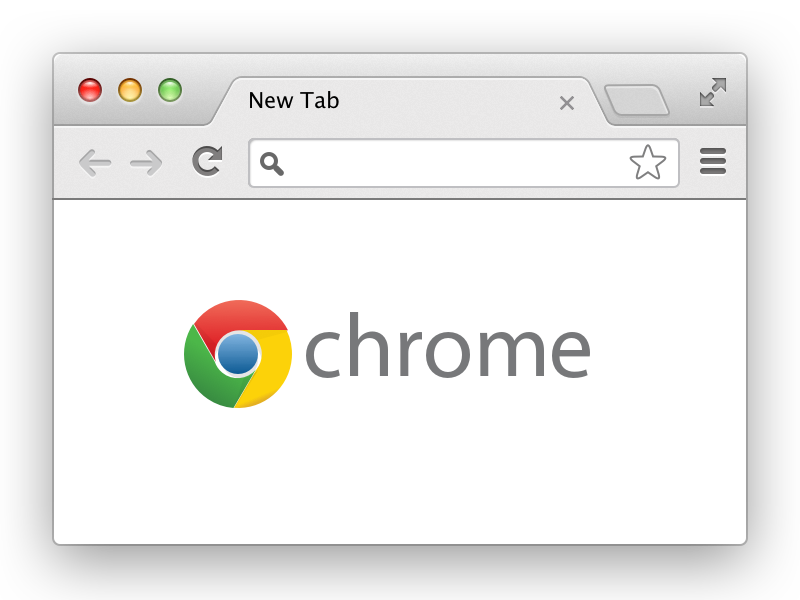 Chrome window png. Browser for sketch by