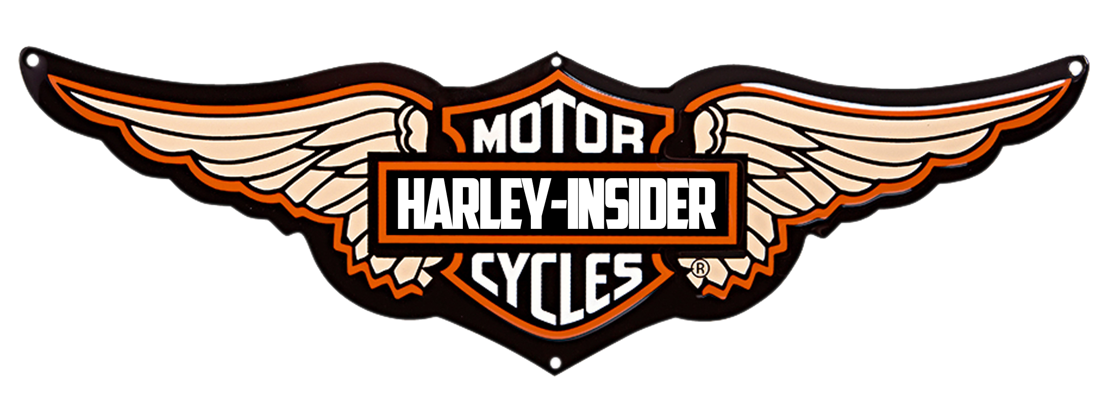 Chrome wings png. Harley davidson logo image