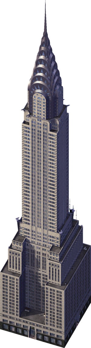 Transparent building chrysler. Image png simcity encyclopaedia