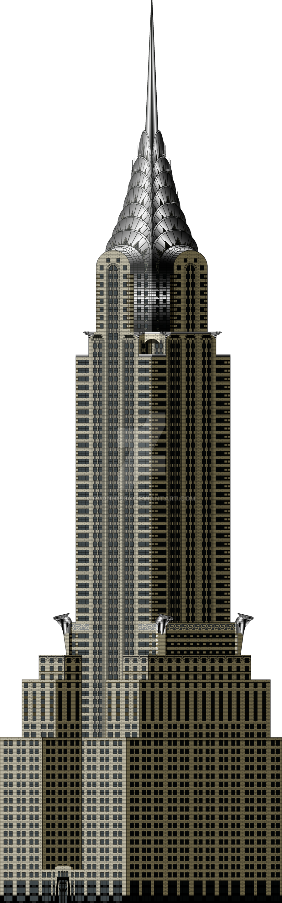 Chrysler building png. New by ryanh on