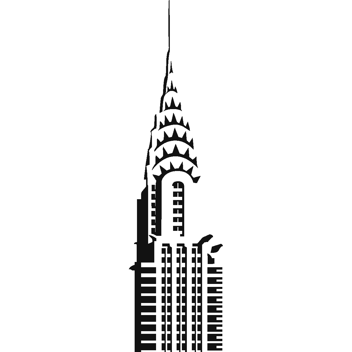 Houston drawing skyscraper. Chrysler building google search