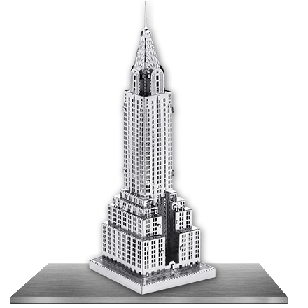 Chrysler building png. Innovatoys metal earth online