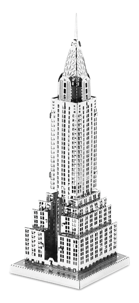 Chrysler building png. Metal earth diy d