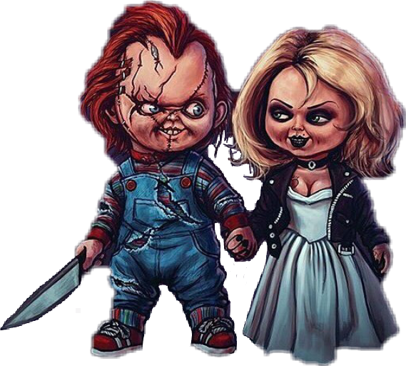 Chucky gif png. Sticker by doank