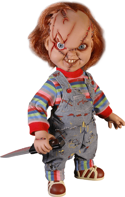 Chucky png. Scary transparent stickpng at