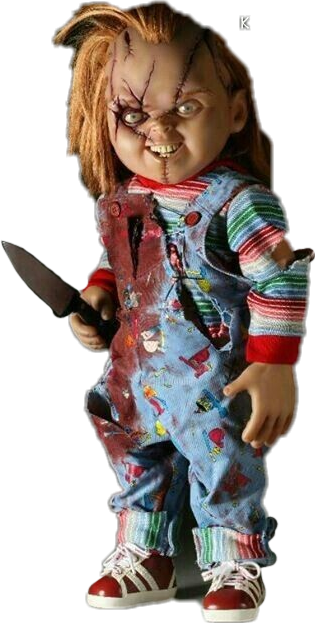 Chucky png toy. Popular and trending stickers