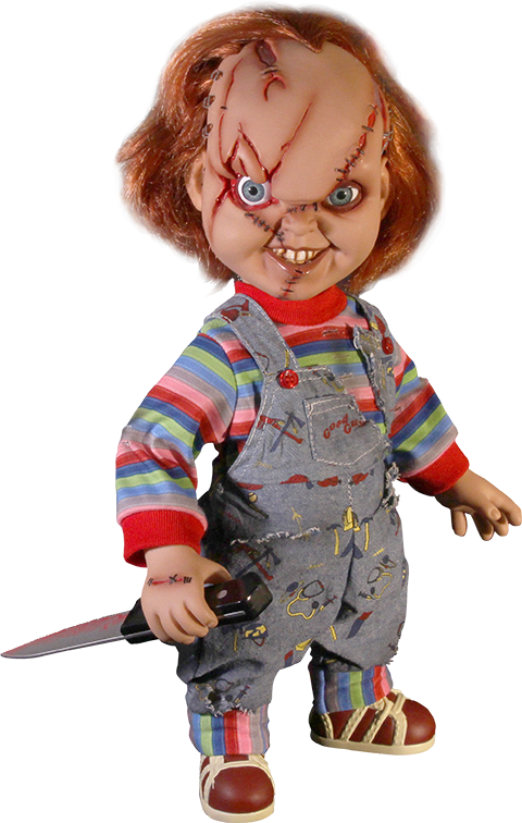 Chucky png toy. Childs play talking collectible