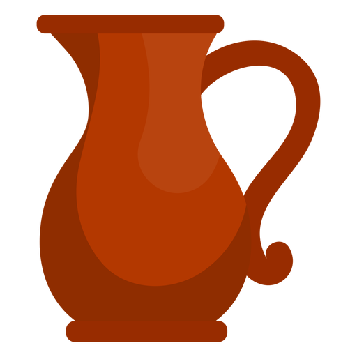 Chucky vector pitcher. Hanukkah oil jug icon