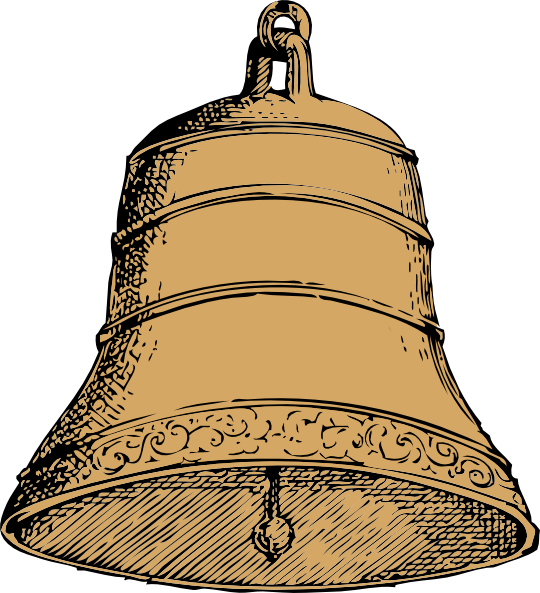Church bell png. Old clip art at