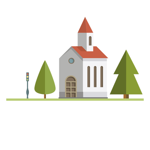 transparent church svg