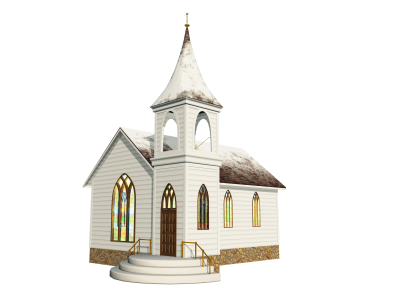 Transparent church building. Download cathedral free png