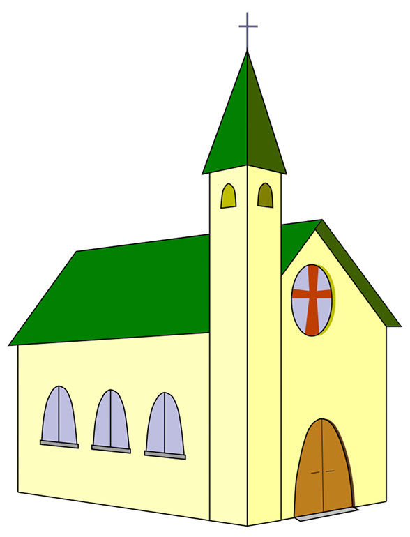 Church clipart transparent background. Portfolio