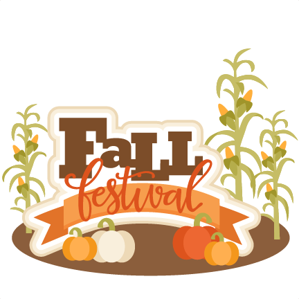 Fall festival png. Title svg scrapbook cut